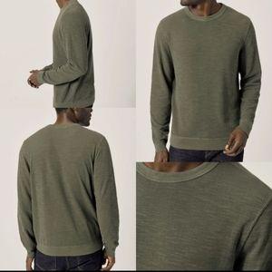 Buck mason double slub sweatshirt  XL